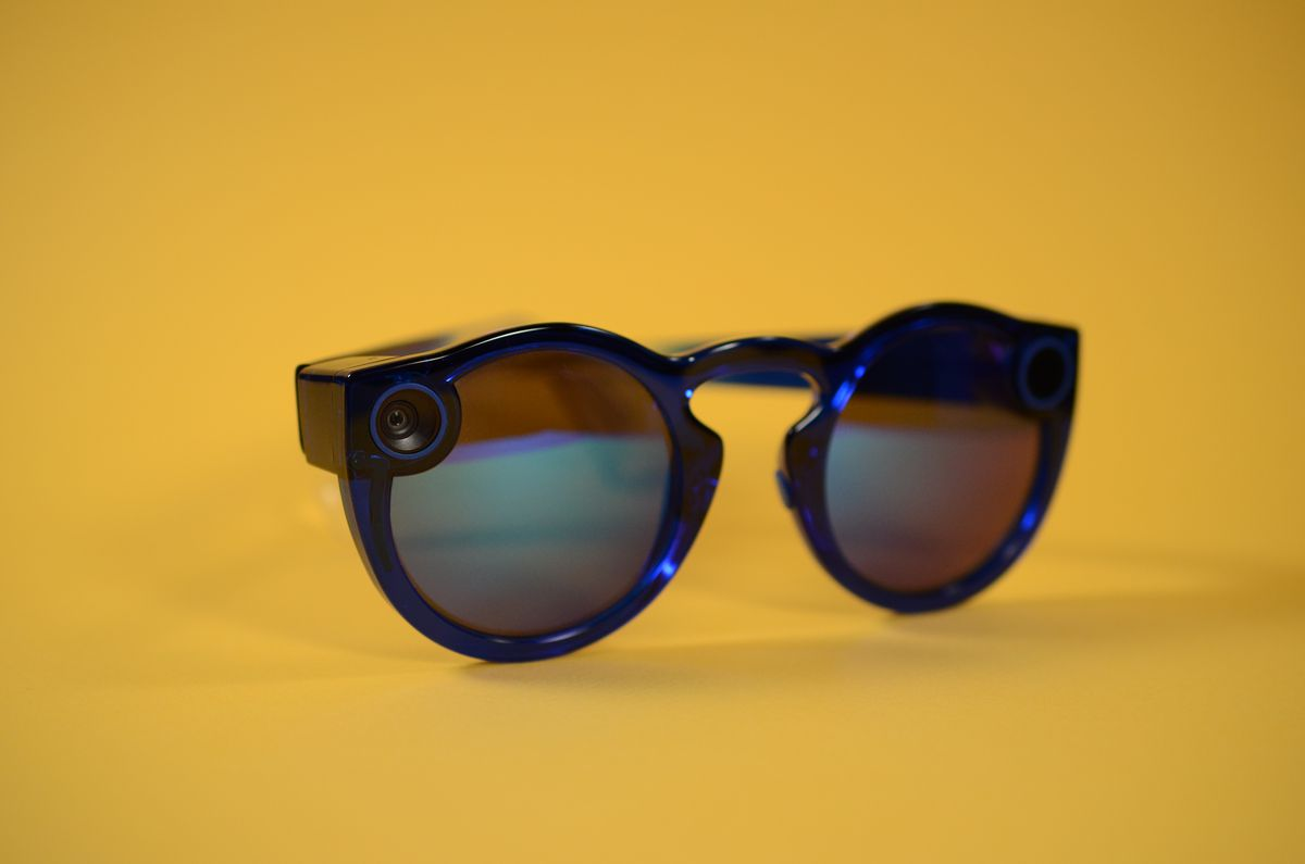Photo of Snapchat's new Spectacles sunglasses that allows you to take video or take photos while you wear them