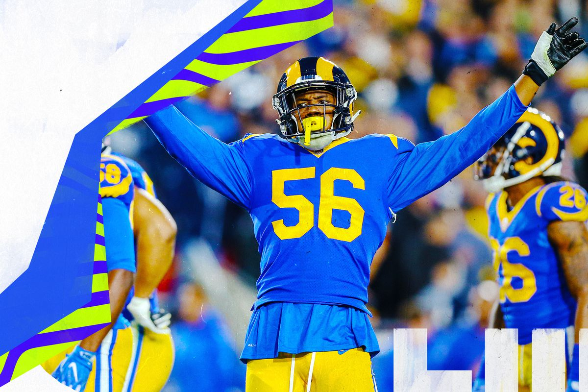quality design 08704 c1465 Why Dante Fowler is the Rams' X-factor vs. Patriots in 2019 ...