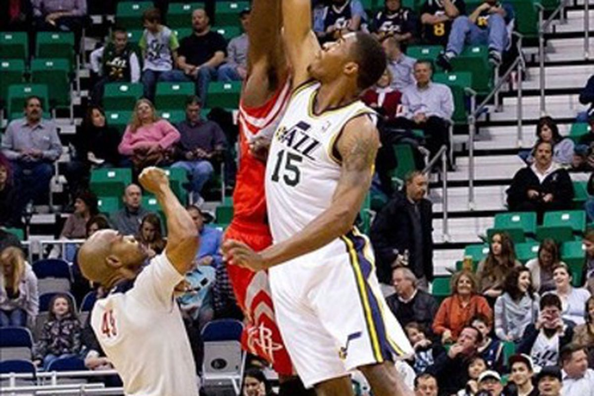 Derrick Favors can jump higher due to P3's training facilities. But do they make him a better basketball player?