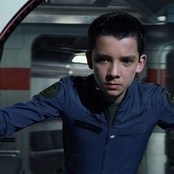 "Asa Butterfield stars in ""Ender's Game."""