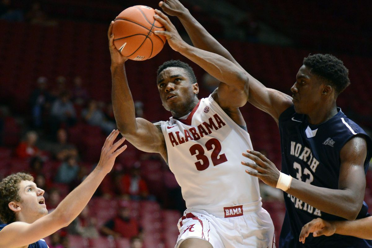 Retin Obasohan is the second leading scorer for The Tide, averaging 13.6 points a game