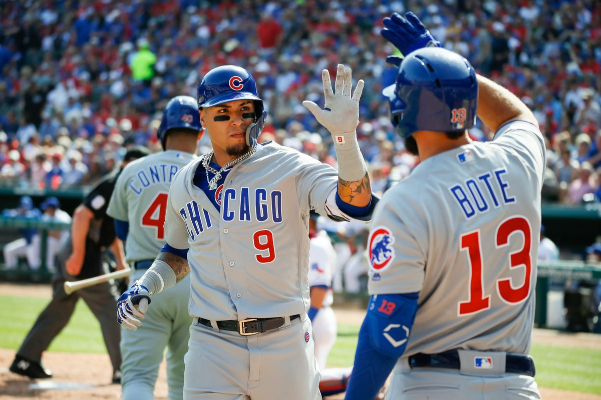 MLB: Chicago Cubs at Texas Rangers