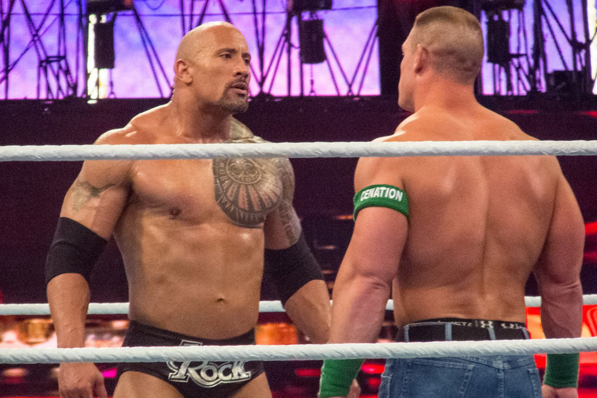 The Rock - bigger than ever, not just figuratively speaking.