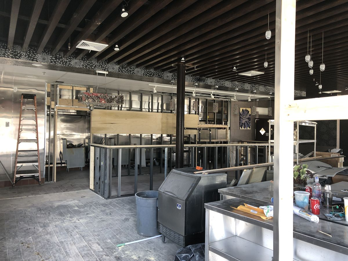 sushi factory renovations