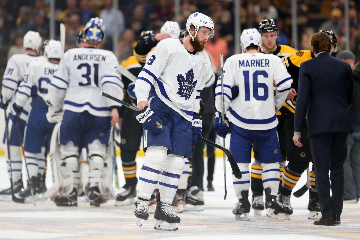 Toronto Maple Leafs v Boston Bruins - Game Seven