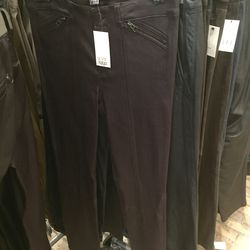 Leather pants, $199 (were $1,175)
