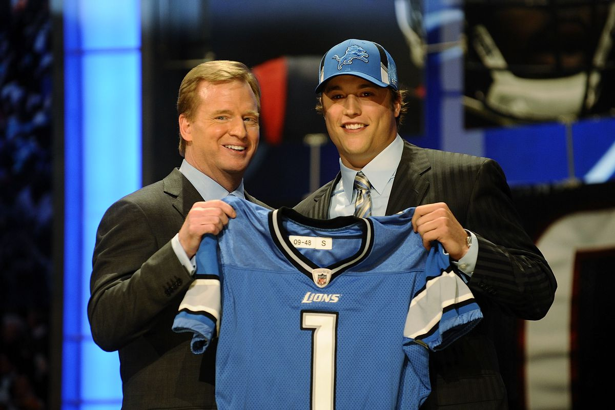 Notes: Revisiting how and why the Detroit Lions drafted Matthew Stafford -  Pride Of Detroit