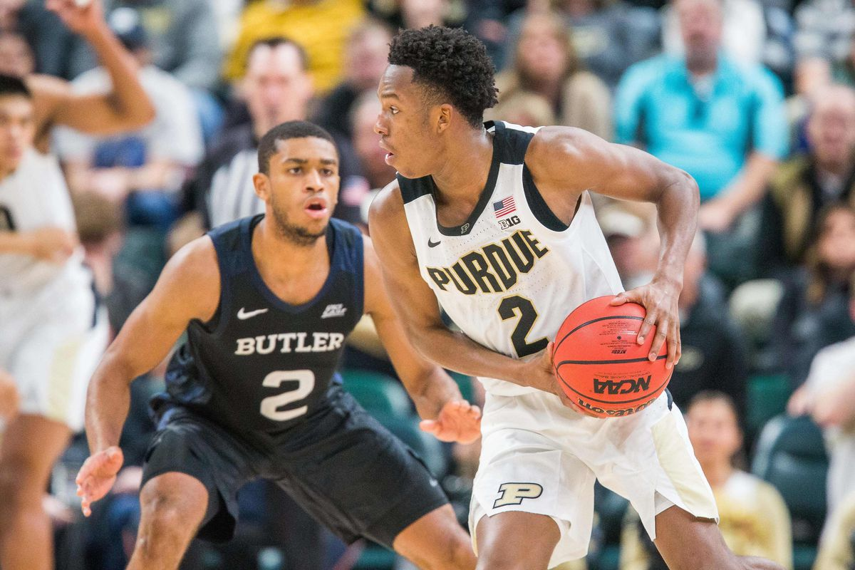 College Basketball Rankings December 23 Purdue Still