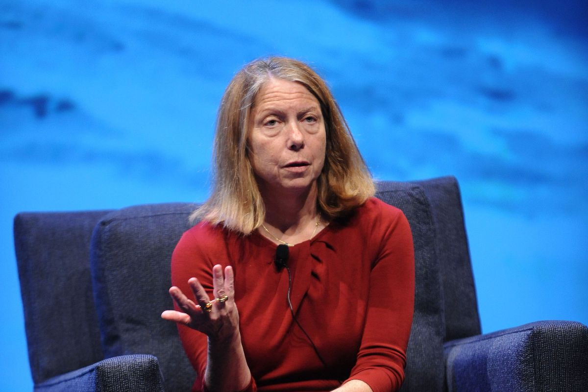 Jill Abramson at the WIRED Business Conference on May 7, 2013 in New York City.