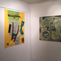 """Rachel Stallings' """"Laugh Attack"""" is on view Feb. 15-March 11 at Mestizo Gallery."""