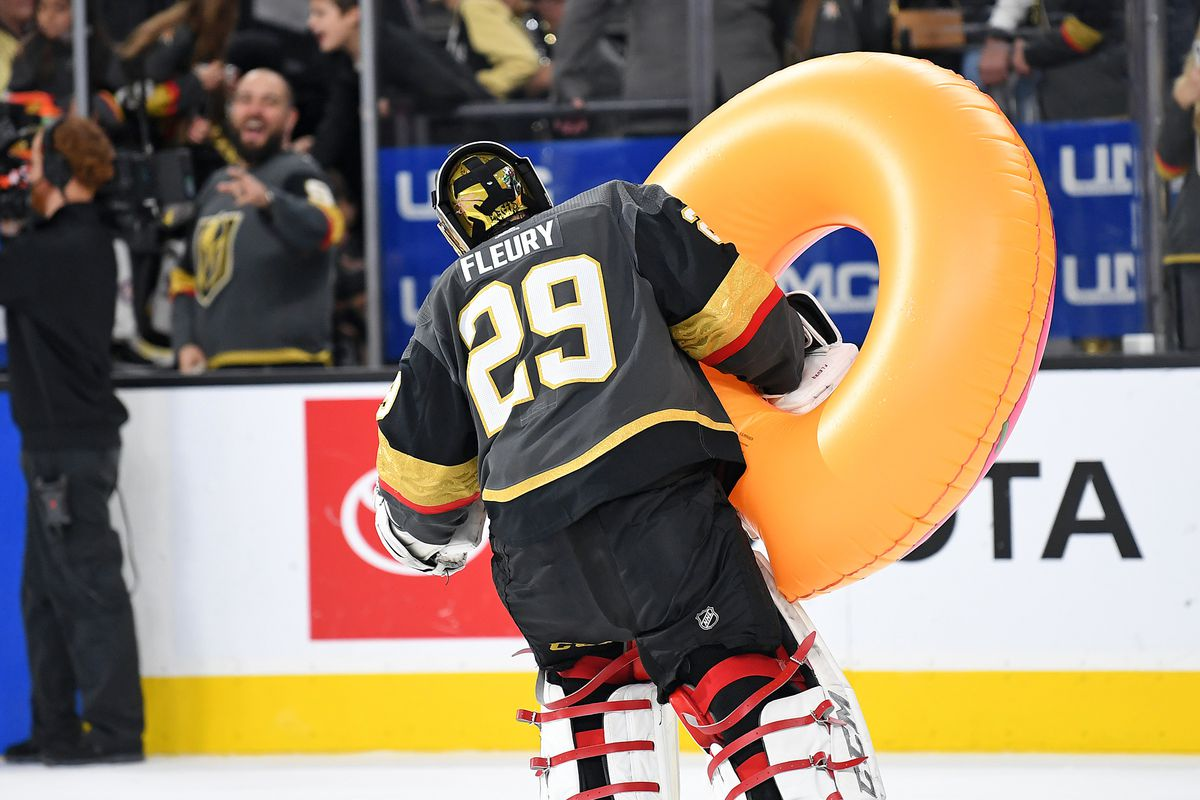 NHL: Vancouver Canucks at Vegas Golden Knights