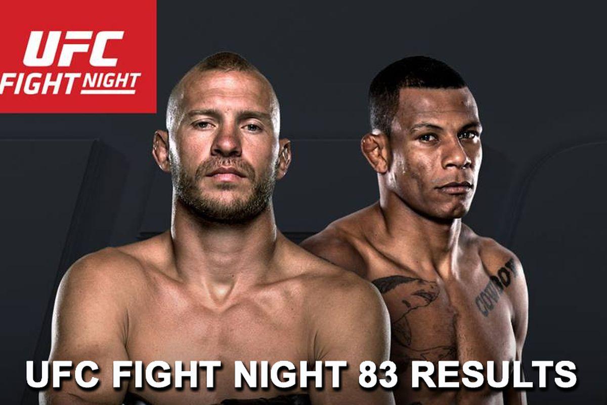 UFC Fight Night 83 live stream...
