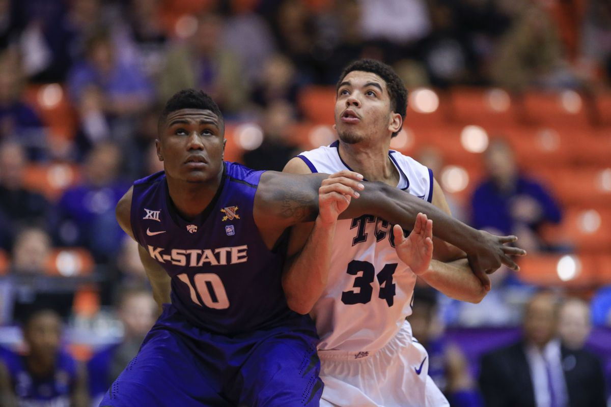 K-State tries to hold off a solid TCU squad in Round 1 today.