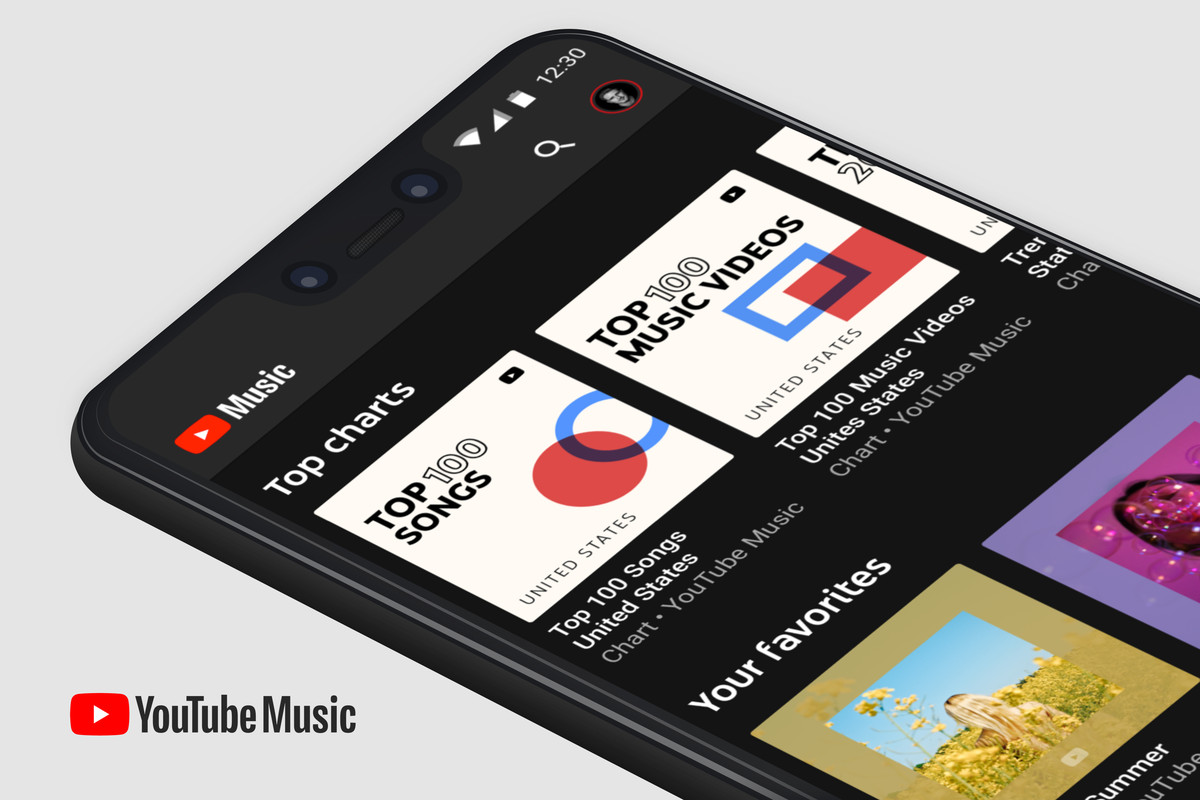 Image result for YouTube Music to be preinstalled on Android 10 devices