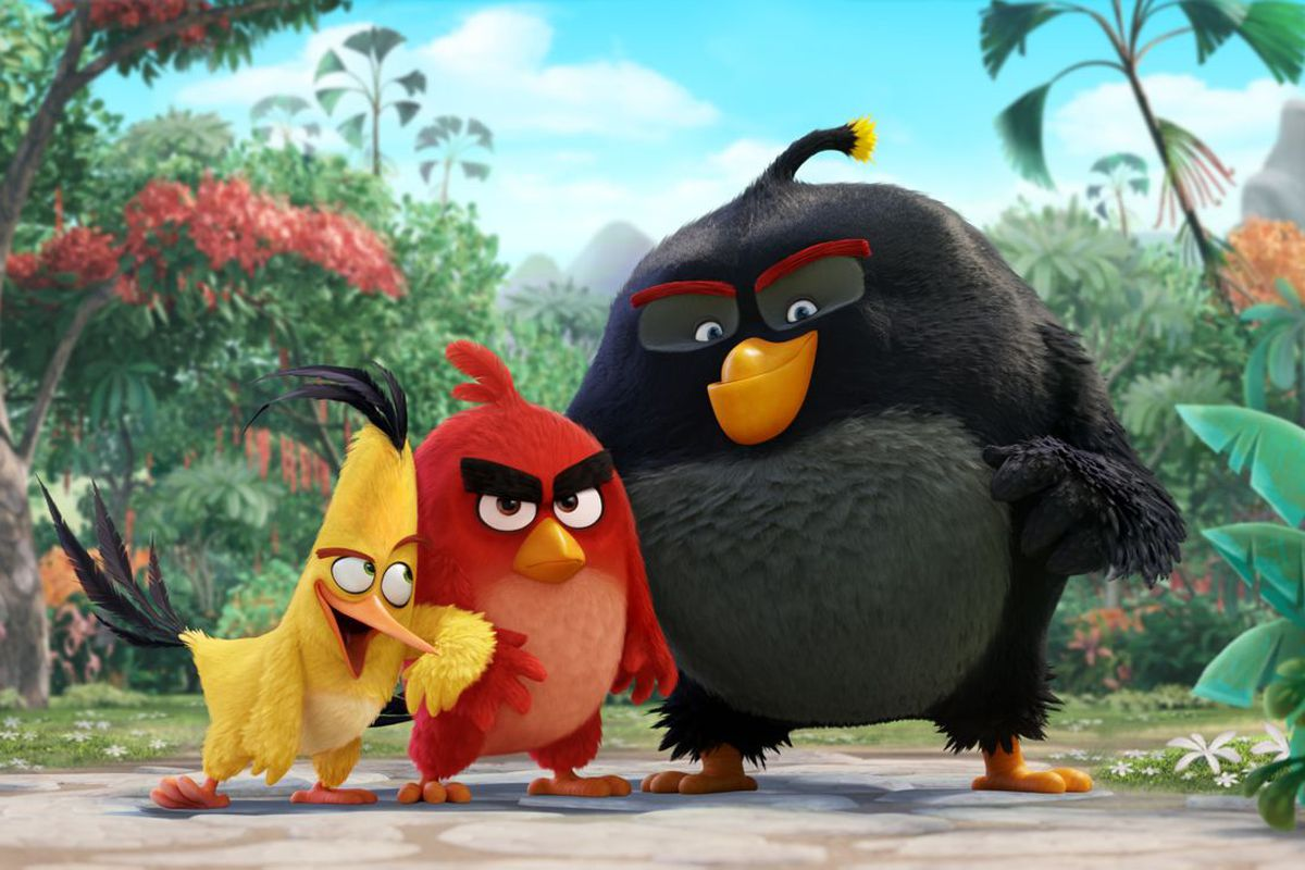 the angry birds movie would be better if it went full trump