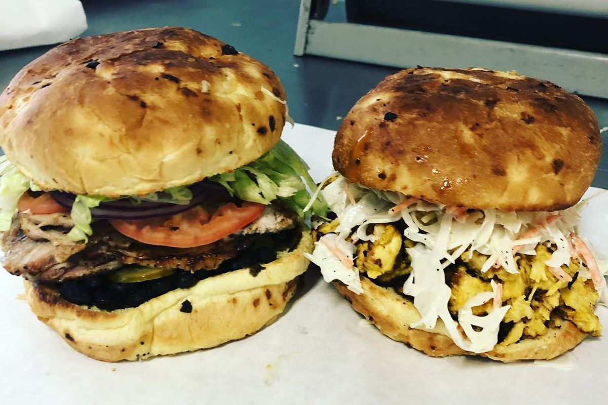 Sandwiches from Dough