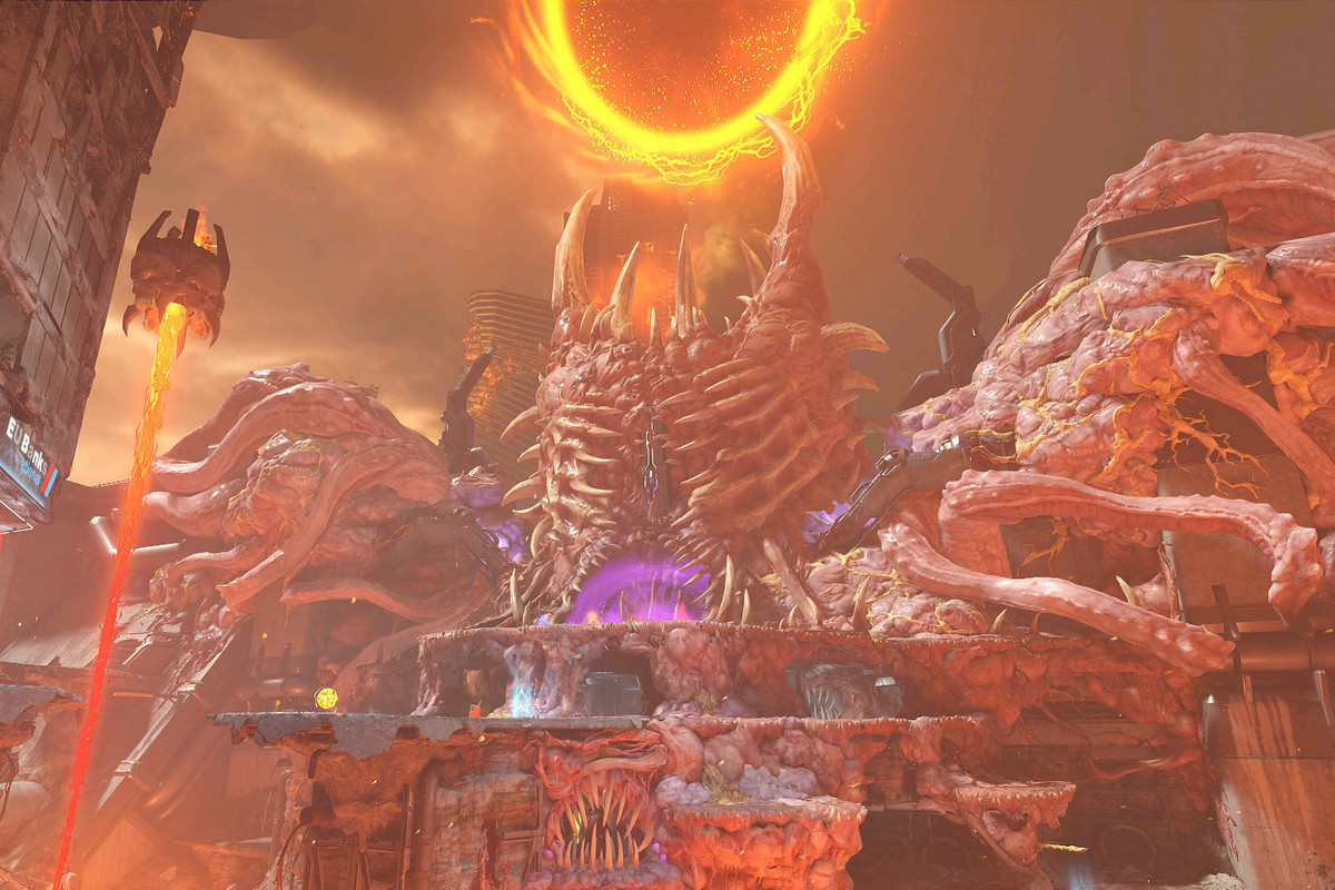 The Super Gore Nest from Doom Eternal