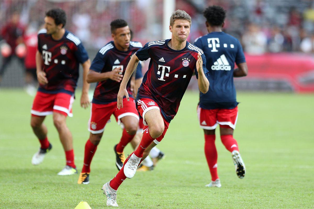 FC Bayern v AC Milan - 2017 International Champions Cup China
