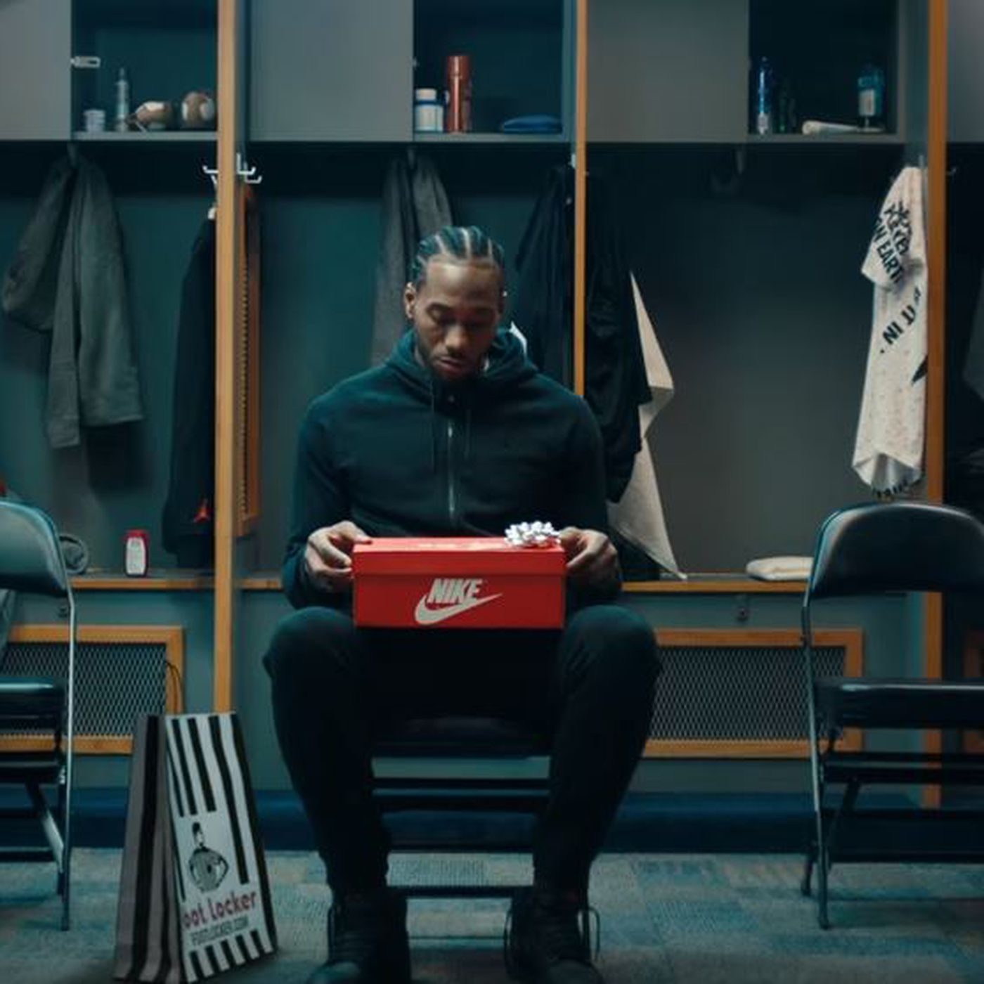 496d78104f0516 Kawhi Leonard in his first Foot Locker commercial and it s hilarious -  Pounding The Rock