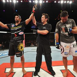 David Mitchell fought Yan Cabral in Sao Paulo, Brazil on October 9, 2013.