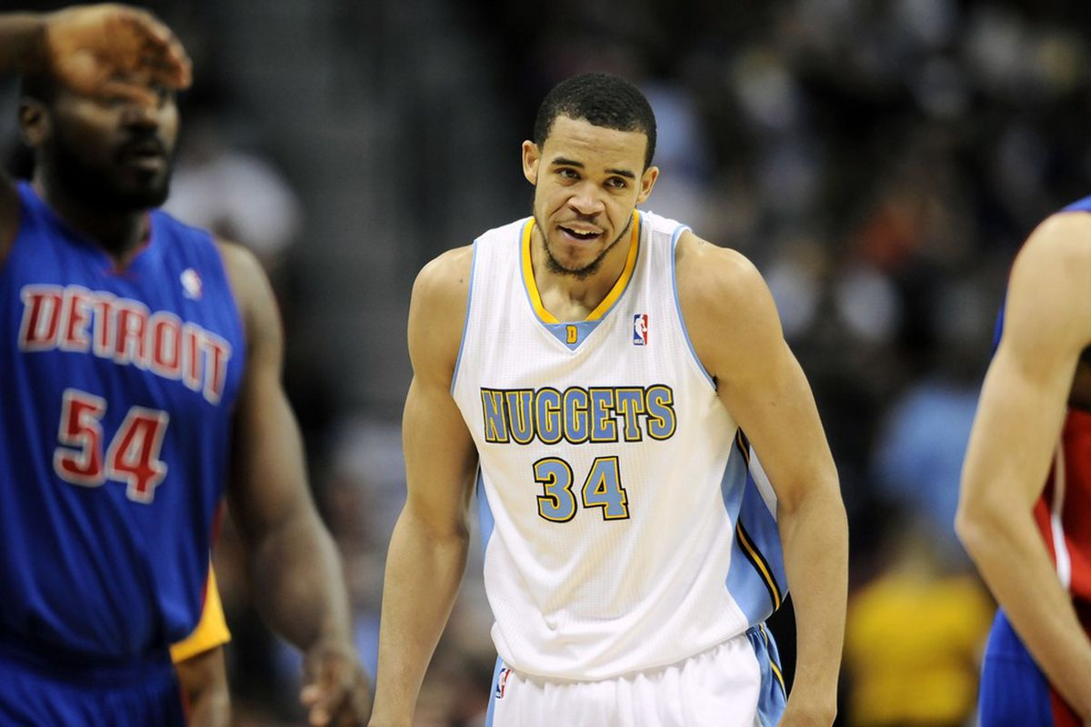 Denver Nuggets center JaVale McGee makes his debut a winner with an incredible put-back dunk.