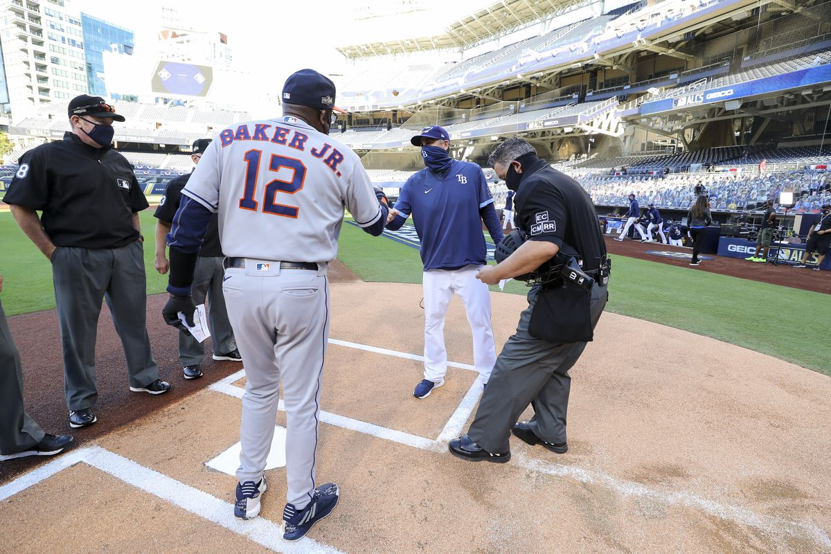 American League Championship Series Game 1: Tampa Bay Rays v. Houston Astros