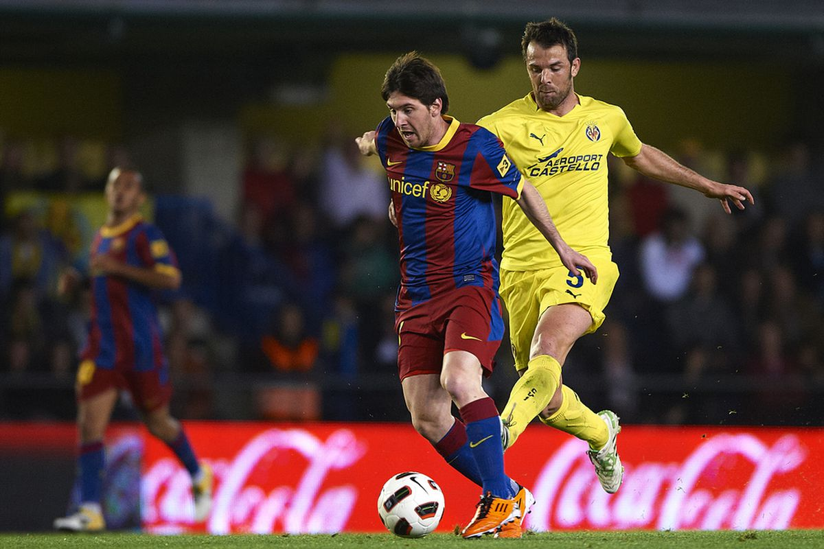 Will Marchena be able to keep up with Messi this time?