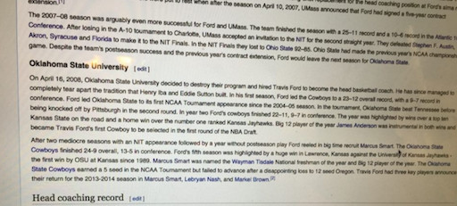 Disgruntled OSU Fans Take to Wikipedia - Cowboys Ride For Free