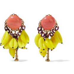 These colorful earrings take the fruit trend all the way, and we're loving it.