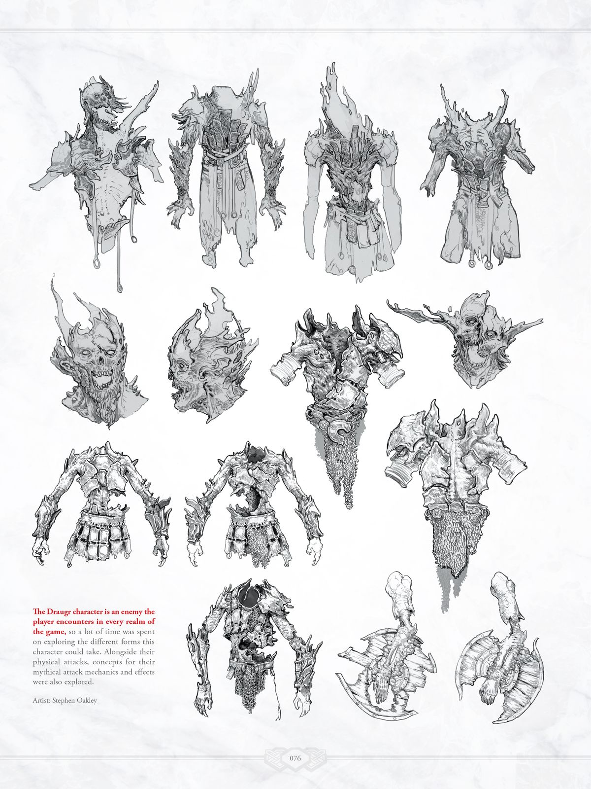 From The Art of God of War