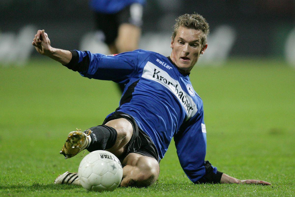 Kamper in his Bundesliga days