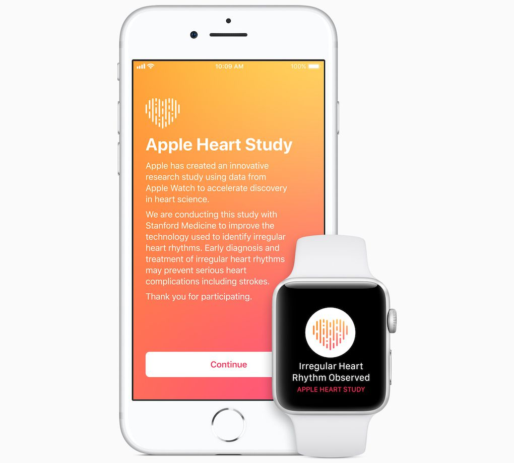 Apple and Stanford's Apple Watch study