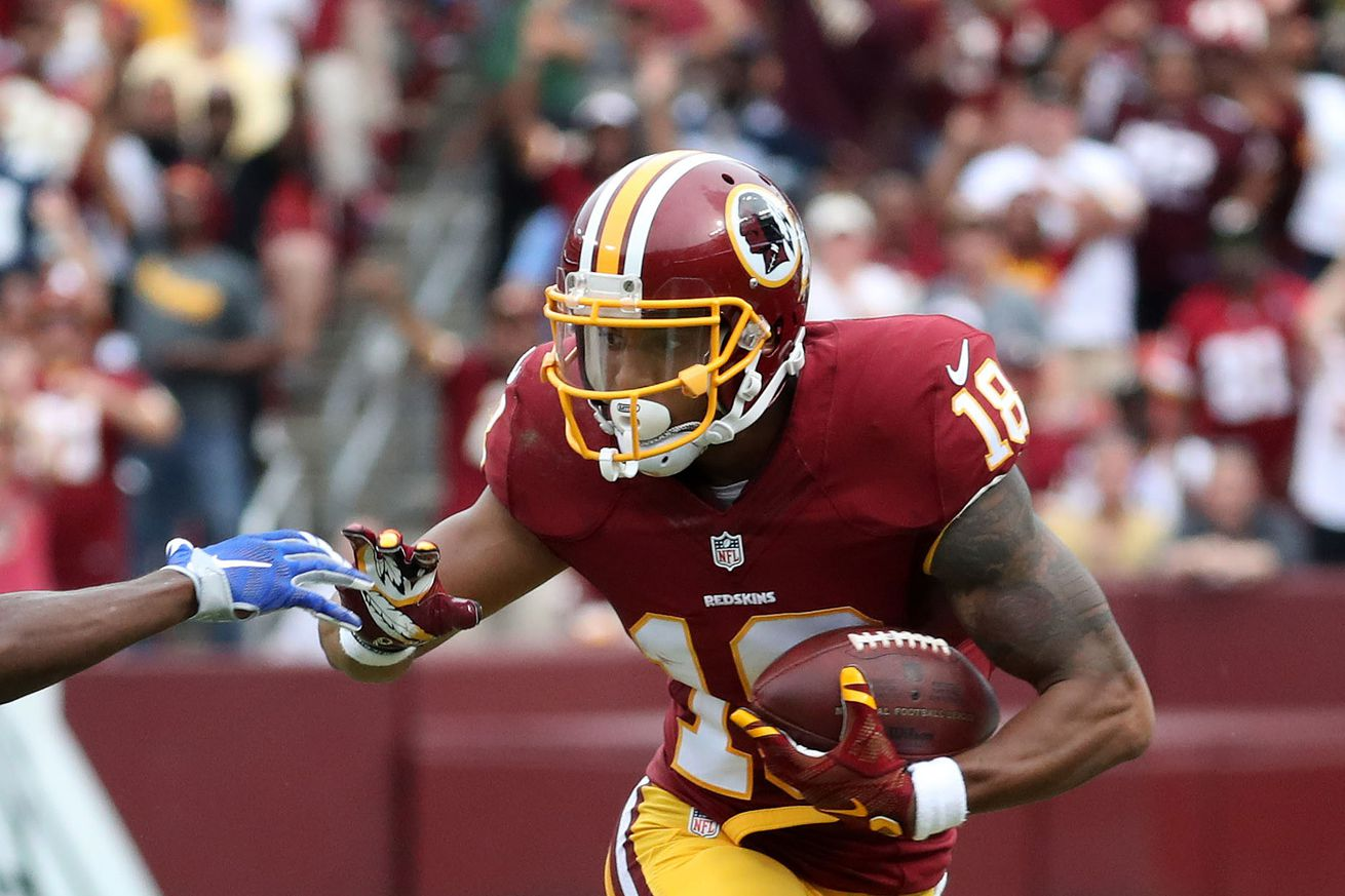 Daily Slop: What can Josh Doctson learn from Santana Moss?; QBs should want Kirk Cousins to hit free agency