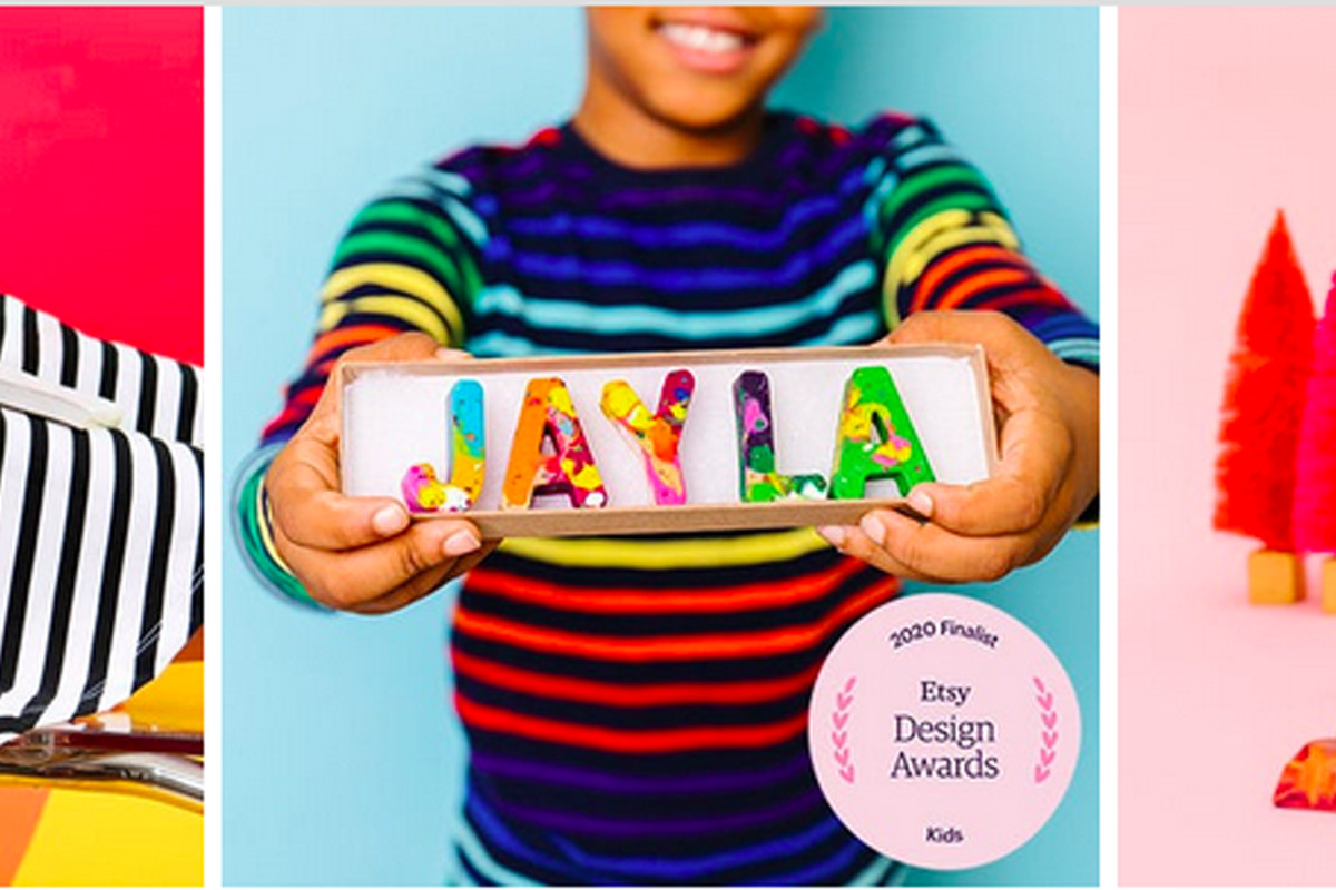 """Nicole Lews' Etsy startup Art2theextreme bills itself as """"The Original Rainbow Crayon"""" and has made more than 32,000 sales."""
