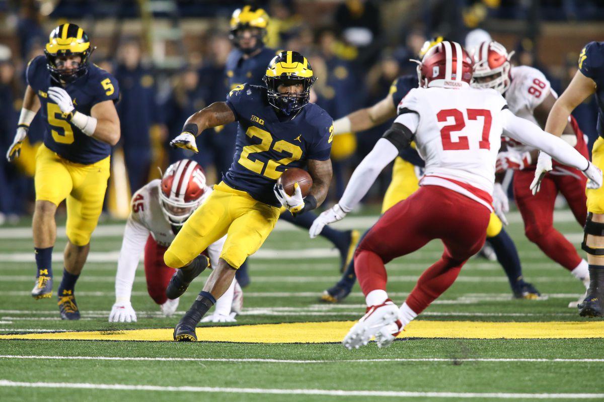 COLLEGE FOOTBALL: NOV 17 Indiana at Michigan
