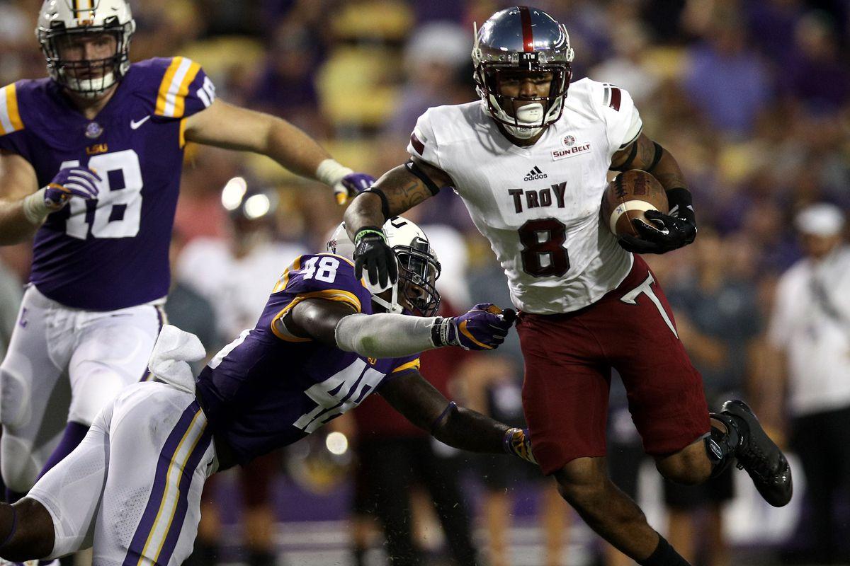 Troy v LSU