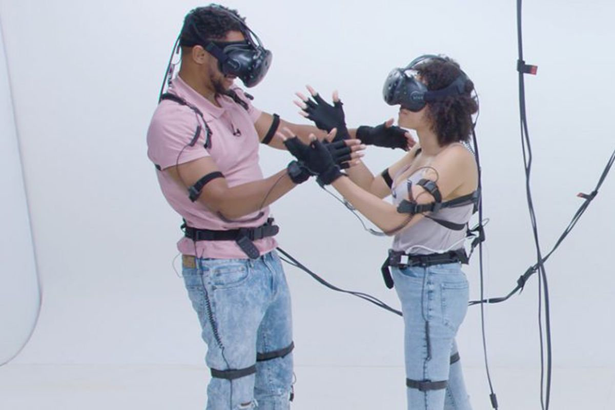 virtual reality dating games
