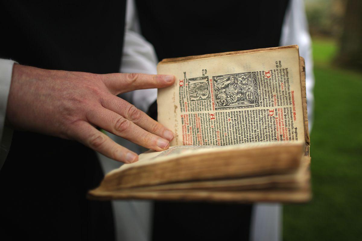 Cistercian Monks Return To The Ruins Of Rievaulx Abbey