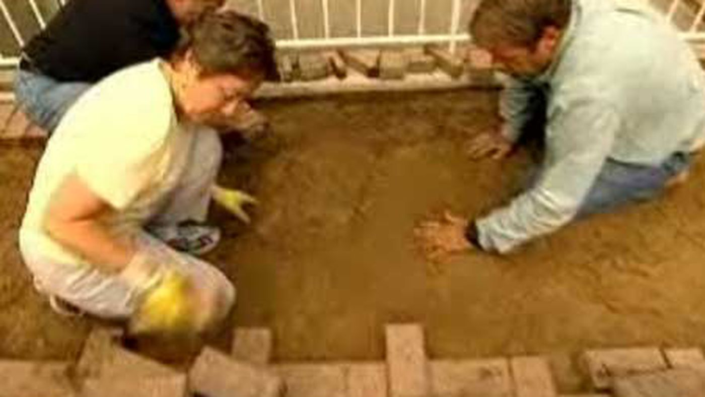 How To Repair A Brick Patio This Old
