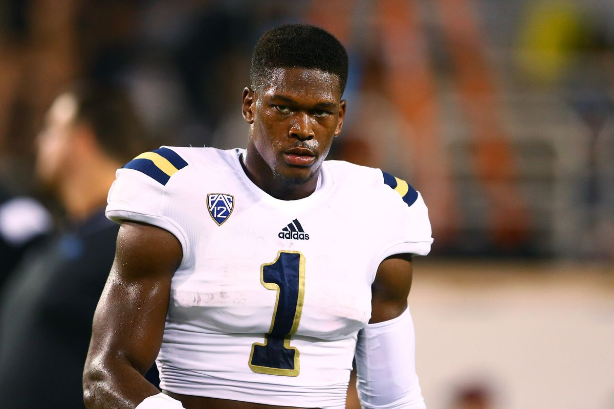 UCLA DB Ishmael Adams has been arrested for robbery.