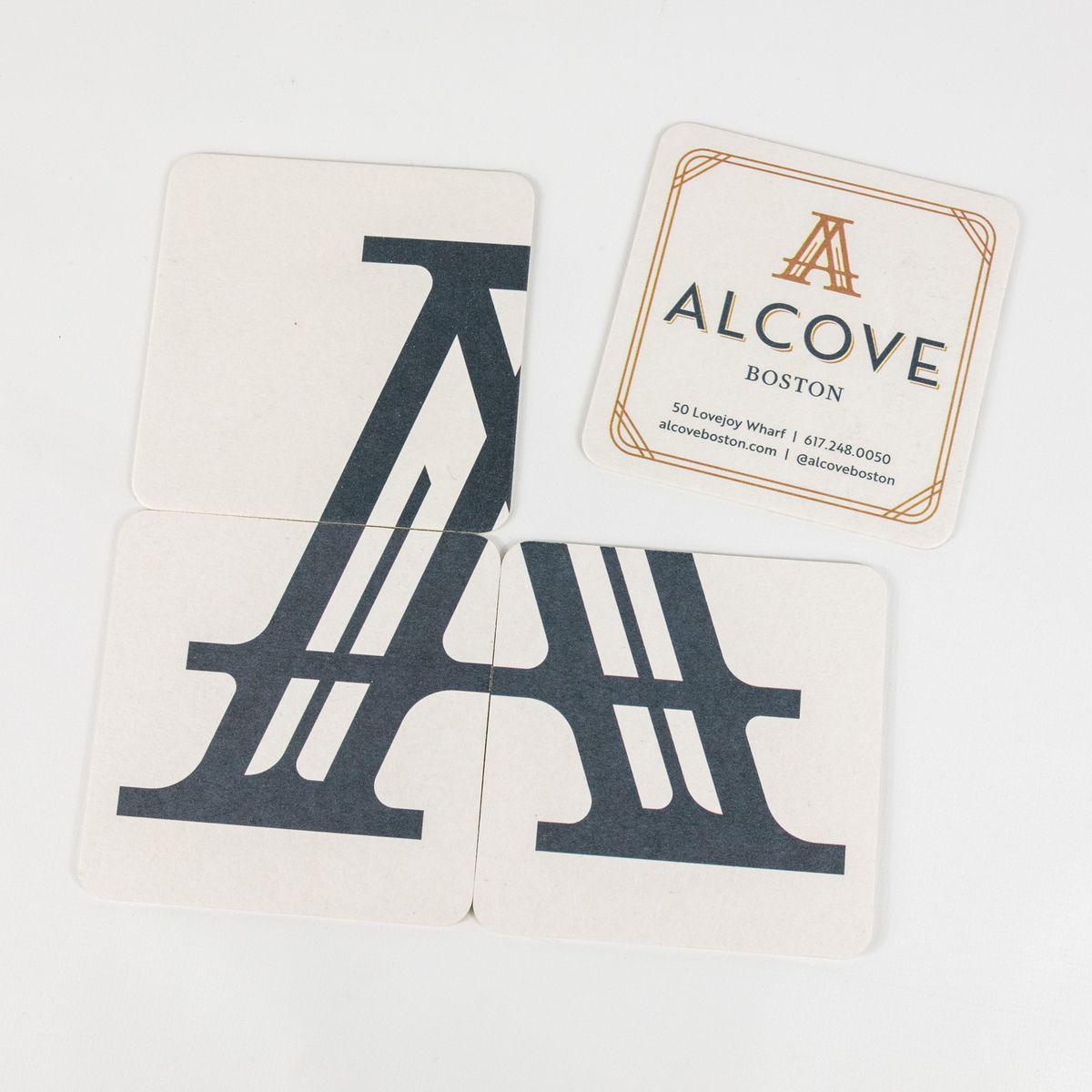 Alcove coasters