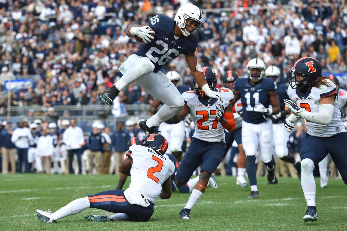 Penn State Football s Top 10 in 2015  No. 3 Saquon Barkley - Black ... 9b082386a