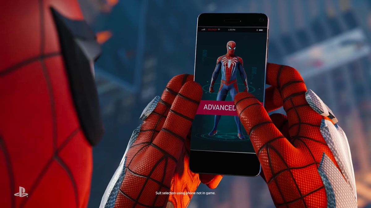 What Kind Of Phone Does Spider Man Use Polygon
