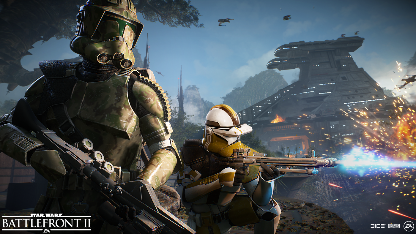 Star Wars Battlefront 2 Adds Elite Clone Troopers In Latest Update Polygon