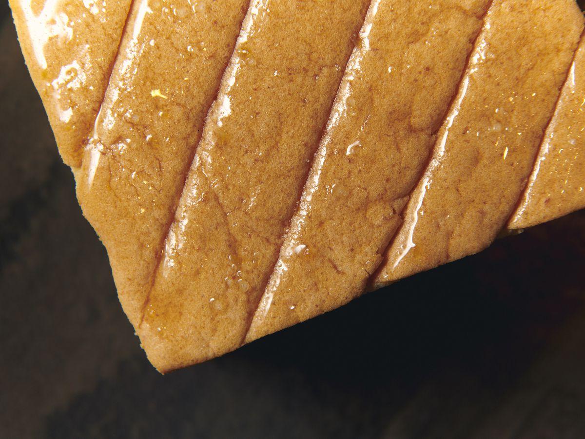 Momofuku Ko's Japanese cheesecake