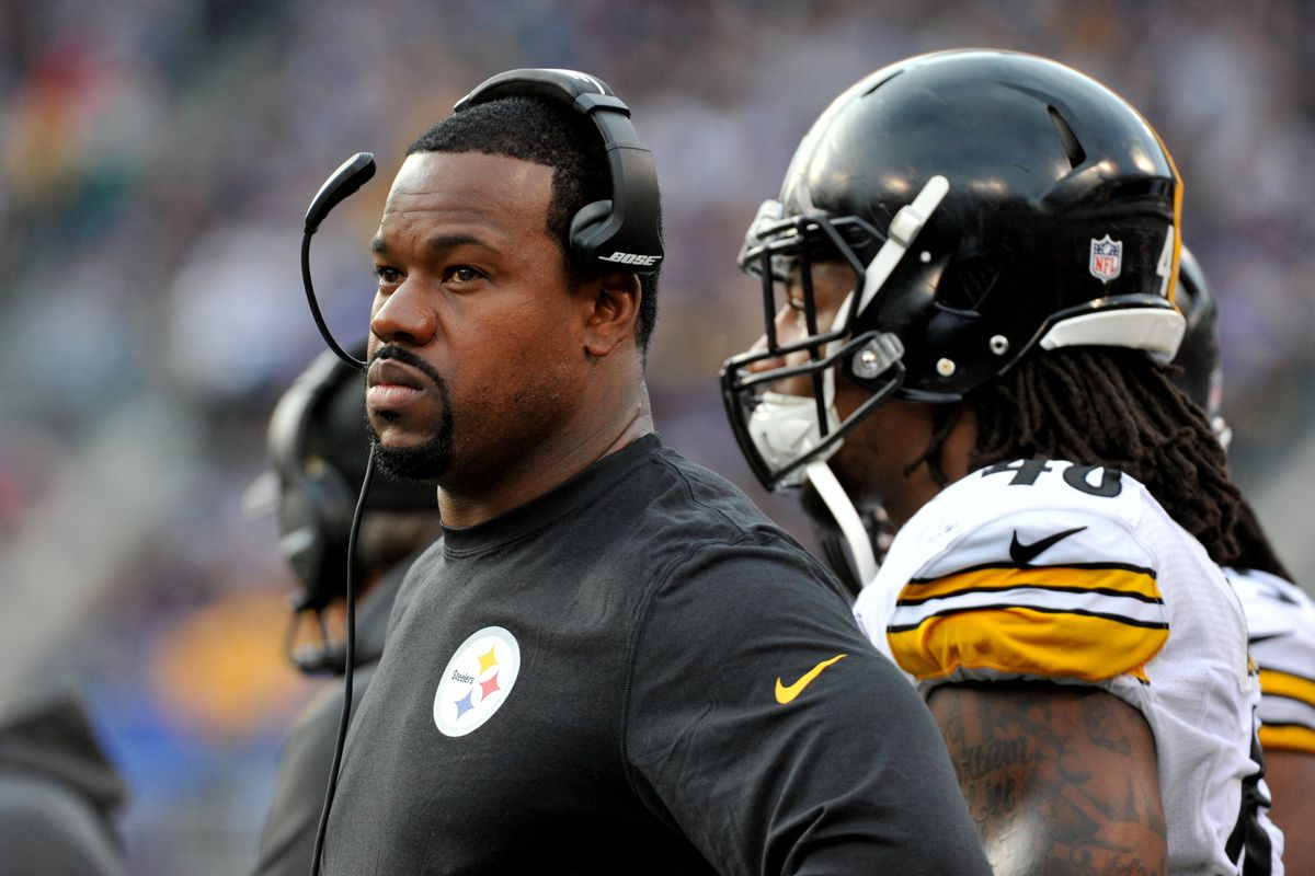 a5ddd19d800 Report  Steelers OLB coach Joey Porter detained after altercation with  police officer