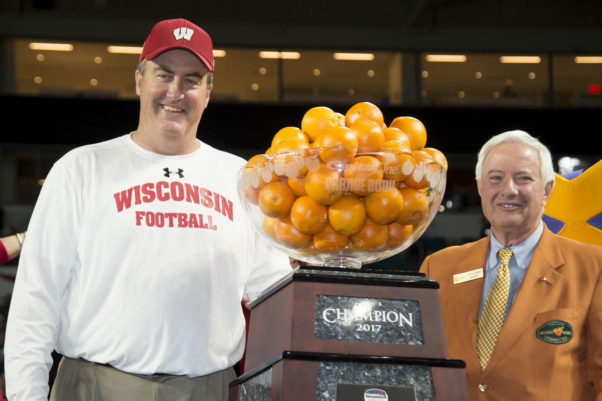 COLLEGE FOOTBALL: DEC 30 Orange Bowl - Miami v Wisconsin