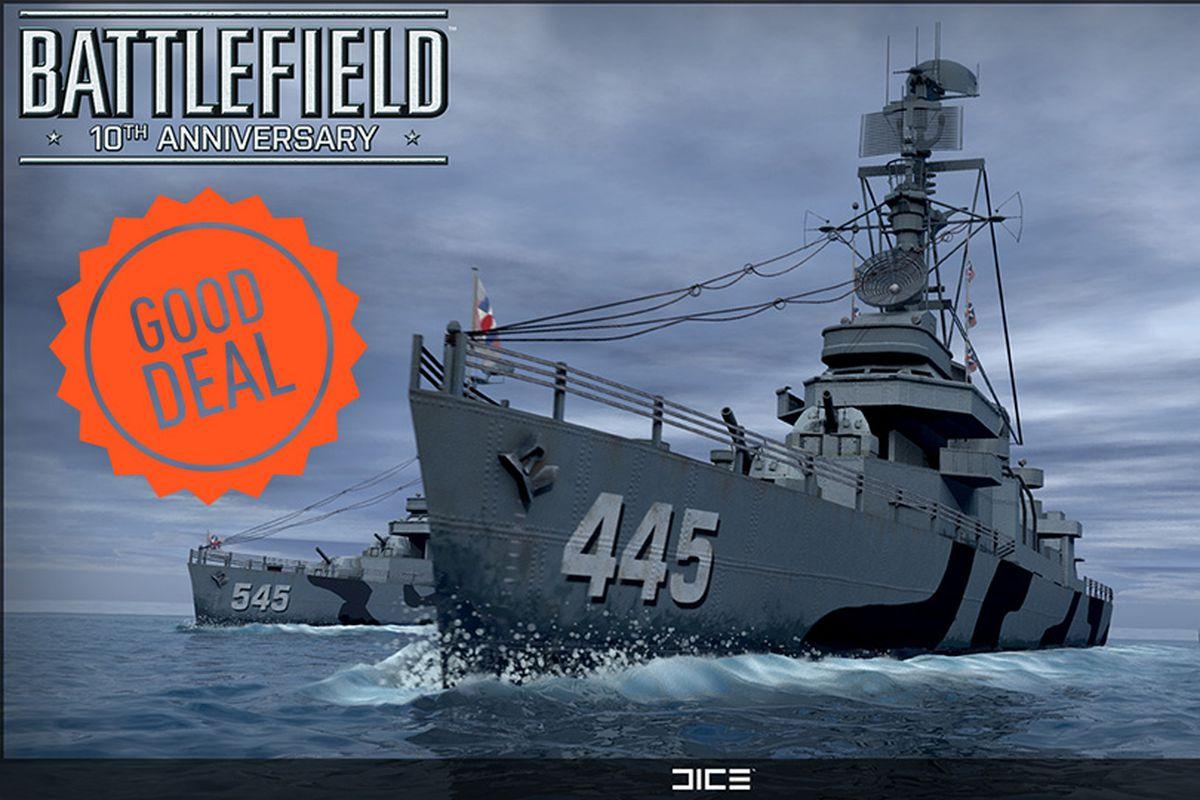 Battlefield 10th anniversary Good Deal