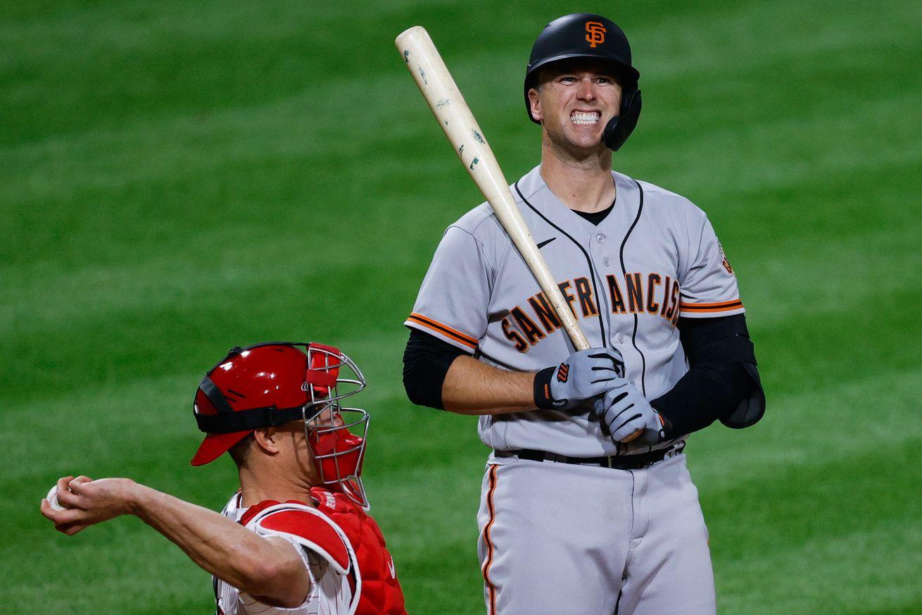 San Francisco Giants v Philadelphia Phillies