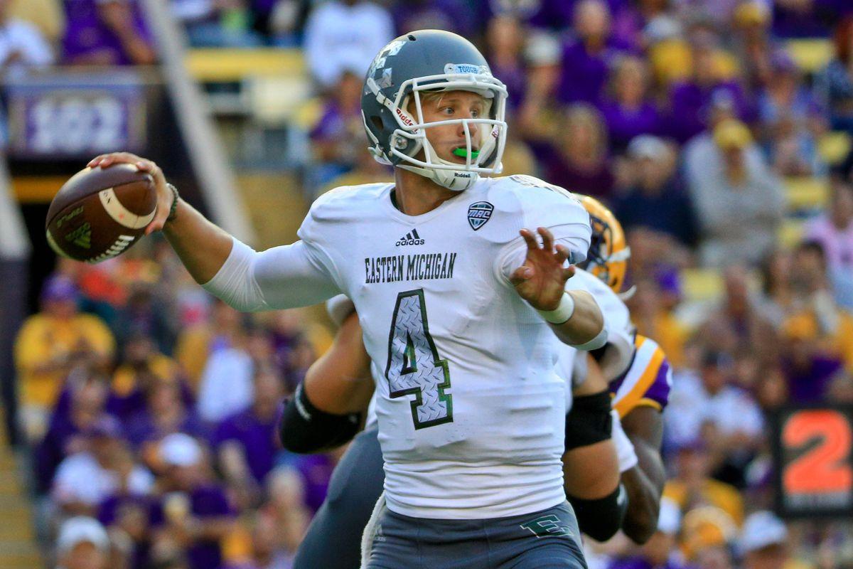 NCAA Football: Eastern Michigan at Louisiana State